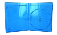 XtremPro Blu-Ray CD DVD Jewel storage Replacement Case 0.47in 10 Pack - Blue (11085)