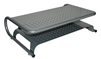 Monitor Stand Heavy Duty Metal Riser With 2 Levels Of Shelf Storage Used for PC Laptop Printer