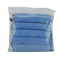 Micro Fiber Cleaning Cloth for Monitor Screens Ultra Soft Lint-Free Large 12 X 12 INCH 5 Pack