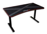 HIGH QUALITY GAMING DESK TABLE WHOLE MOUSE SURFACE PAD TRUE GAMER WORKSTATION (Black)