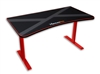 XTREMPRO 11161 HIGH QUALITY GAMING DESK TABLE WHOLE MOUSE SURFACE PAD TRUE GAMER WORKSTATION(Black+Red)