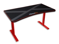 HIGH QUALITY GAMING DESK TABLE WHOLE MOUSE SURFACE PAD TRUE GAMER WORKSTATION (Black+Red)