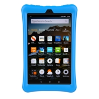 XTREMPRO 11191 SILICONE PROTECTIVE CASE FOR FIRE HD 8(BLUE)