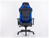 KAPPA 22034 GAMING CHAIR (BLACK+BLUE)