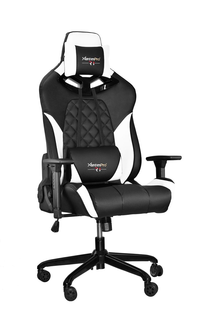 Surprising Rbg Multicolor Light R1 Gaming Chair Race Style Seat With Lumbar And Pillow Support Black White Alphanode Cool Chair Designs And Ideas Alphanodeonline