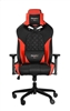 RBG Multicolor Light R1 Gaming Chair Race Style Seat with Lumbar and Pillow Support Red / Black