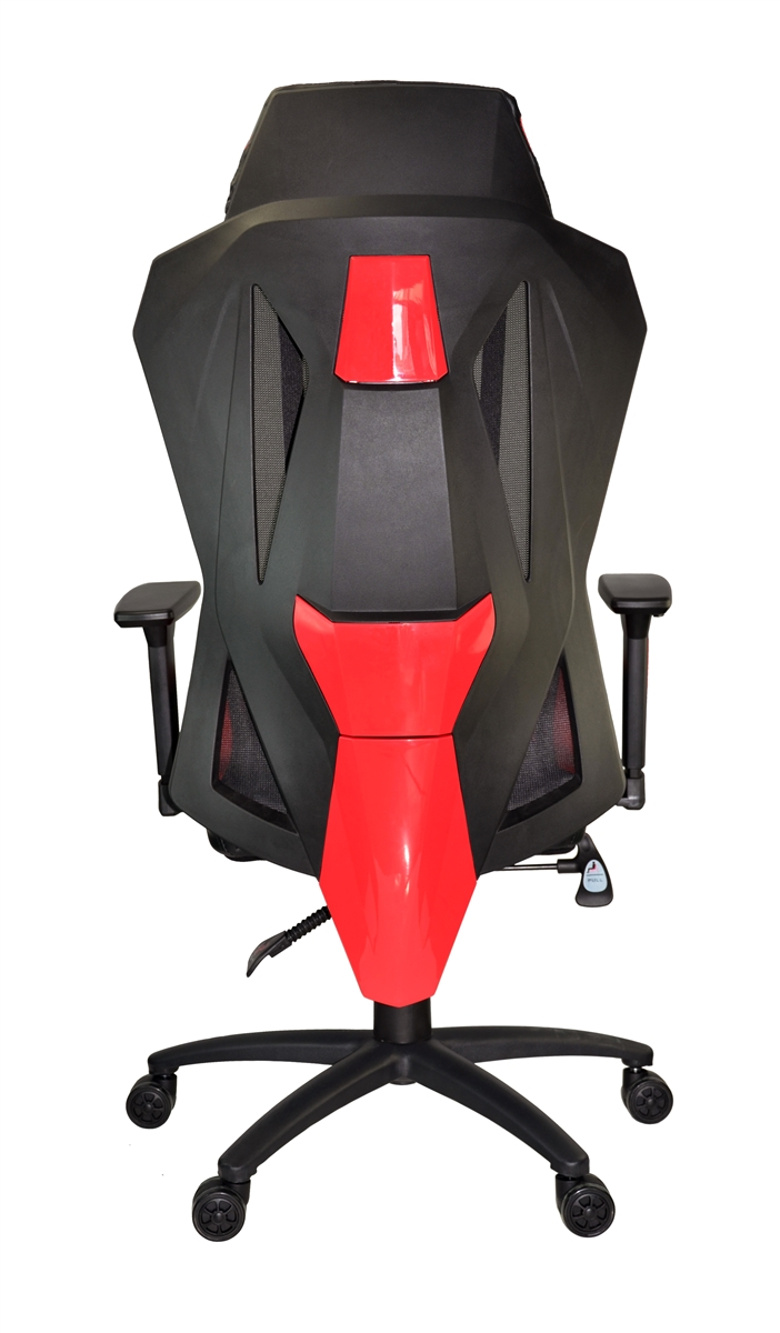 Superb Xtrempro 22045 F1 Mesh Swivel Gaming Chair Black Red Beatyapartments Chair Design Images Beatyapartmentscom