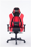 G1 22052 High-back GAMING CHAIR (BLACK+RED)