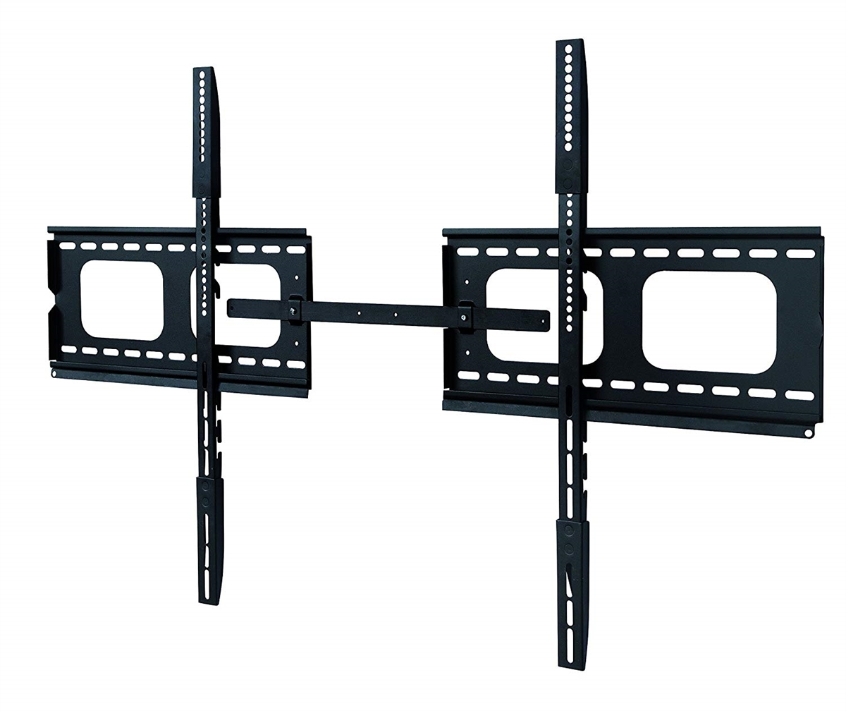 Xtrempro Low Profile Fixed Tv Wall Mount Sliding Dual Plates Bracket For 60in 102