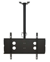 "Ceiling Full Motion TV Mount Tilt 40""-65"" inch LCD LED 4K Plasma VESA 600x400 Max Load 165 Lbs"