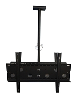 "Dual Screens Full-Motion Ceiling Mounts Bracket Adjustable 30""-50"" inch LED LCD  Plasma"