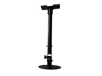 Projector Ceiling Mount Universal Extension, tilt +-30 degree 360degree degree Max 22lbs Load Capacity - Black (41037)
