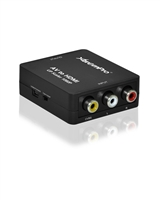 XTREMPRO 61088  MINI COMPOSITE RCA CVBS AV TO HDMI CONVERTER BLACK