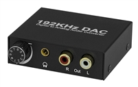 192KHZ DIGITAL TO ANALOG AUDIO CONVERTER