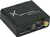 Digital to Analog Audio Converter w/ USB Power Cable and AC Adaptor - Black (65002)