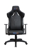 Galactica Chair High Backrest Ergonomic Gaming Office Computer Adjustable Recliner Swivel Seat Black Leather