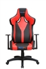 Galactica Chair High Backrest Ergonomic Gaming Office Computer Adjustable Recliner Swivel Seat RED/BLK Leather