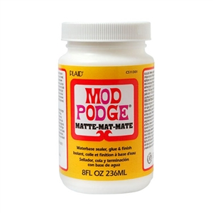 Mod Podge® Waterbase Sealer - Matte 8 oz