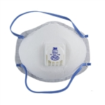 Oil-Proof Respirator with Valve  - Pkg 1