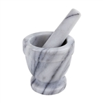 Marble Mortar and Pestle Set - 4""