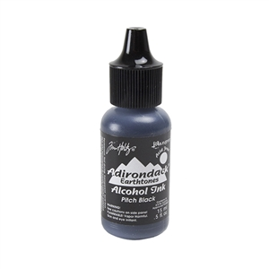 Tim Holtz® Adirondack® Alcohol Inks Earthtones - Pitch Black