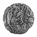 Antique Mold - Oriental Dragon