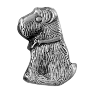 Antique Mold - Pouncing Terrier