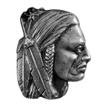 Antique Mold - Native Warrior