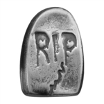 Antique Mold - Halloween Gravestone