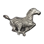 Antique Mold - Prancing Zebra