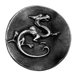 Antique Mold - Fearsome Dragon