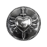 Antique Mold - Sacred Heart