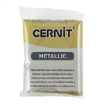Cernit Metallic Polymer Clay - Antique Gold 2oz (56g) block