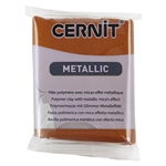 Cernit Metallic Polymer Clay - Bronze 2oz (56g) block