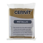 Cernit Metallic Polymer Clay - Antique Bronze 2oz (56g) block