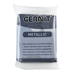 Cernit Metallic Polymer Clay - Hematite 2oz (56g) block