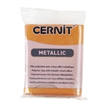 Cernit Metallic Polymer Clay - Rust 2oz (56g) block