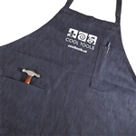 Cool Tools Shop Apron - Denim with Pockets