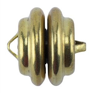 Brass Magnetic Clasp - 1 Set