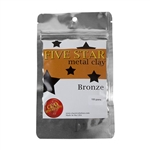Five Star Bronze Clay - 100 gram - 3+ Pkgs