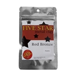 Five Star Red Bronze Clay - 50 gram - 3+ Pkgs