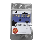 Five Star White Bronze Clay - 50 gram - 3+ Pkgs