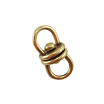 Bronze Plate Connector - Swivel Large 16mm x 7.5mm Pkg - 2