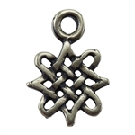 Bronze Plate Drop - Celtic 8mm x 11mm Pkg - 3