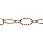 Copper Chain - Open Twist 6.15mm