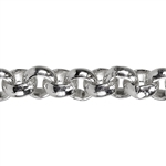 Sterling Silver Rolo Chain 4.5mm - 1 Foot
