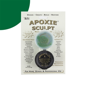Apoxie® Sculpt Two-part Modeling Compound - Green