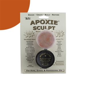 Apoxie® Sculpt Two-part Modeling Compound - Orange