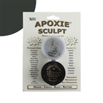 Apoxie® Sculpt Two-part Modeling Compound - Black