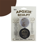 Apoxie® Sculpt Two-part Modeling Compound - Brown